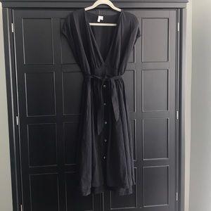 ASOS plus size black dress